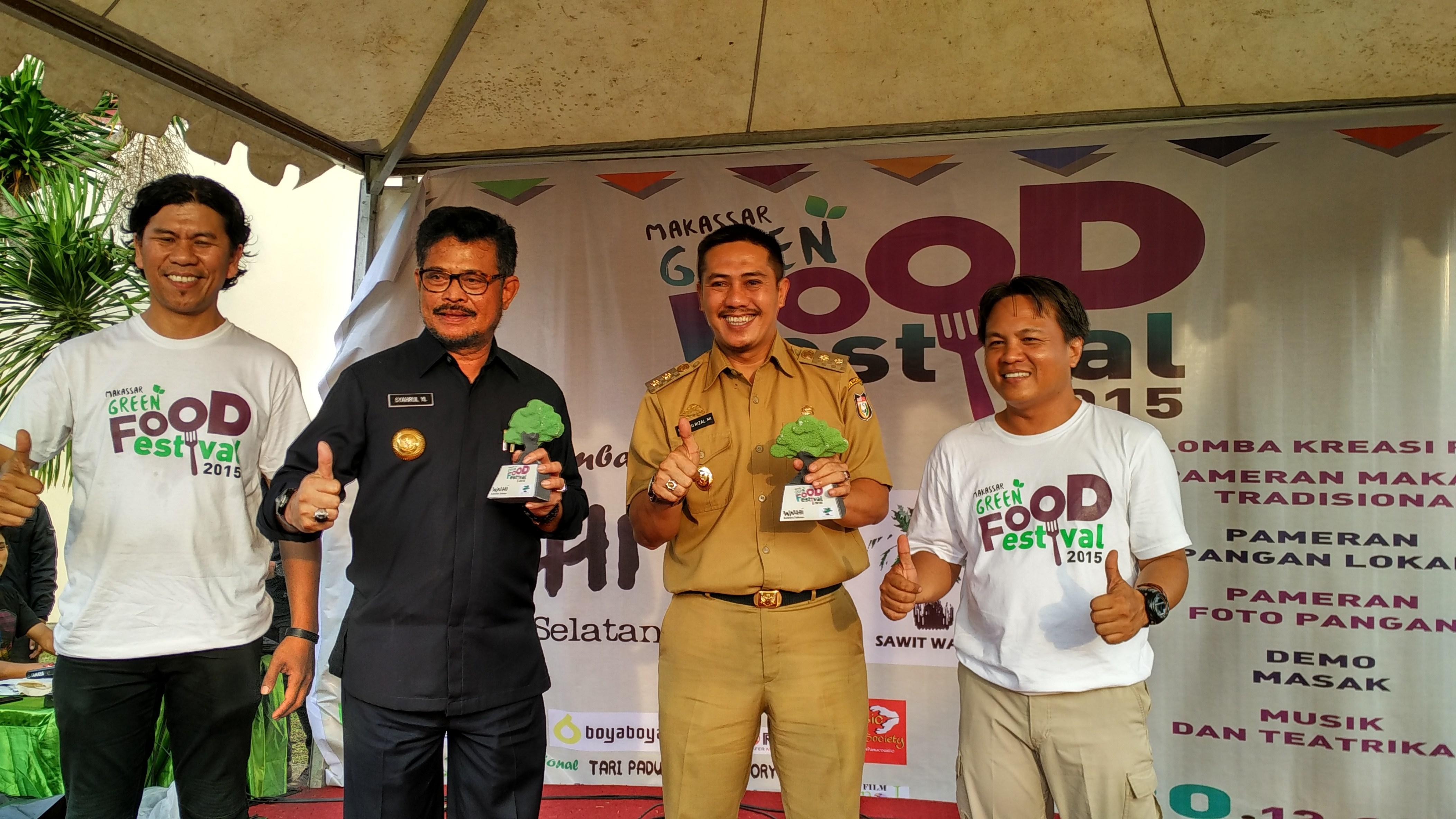 Makassar Green Food Festival 2015
